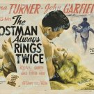 The Postman Always Rings Twice 1946 Vintage Movie Poster Reprint 14