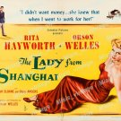 The Lady From Shanghai 1947 Vintage Movie Poster Reprint 23
