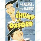 A Chump At Oxford 1940 Vintage Movie Poster Reprint 2