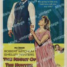 The Night Of The Hunter 1955 Vintage Movie Poster Reprint 2