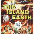 This Island Earth 1955 Vintage Movie Poster Reprint 30