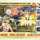 This Island Earth 1955 Vintage Movie Poster Reprint 29