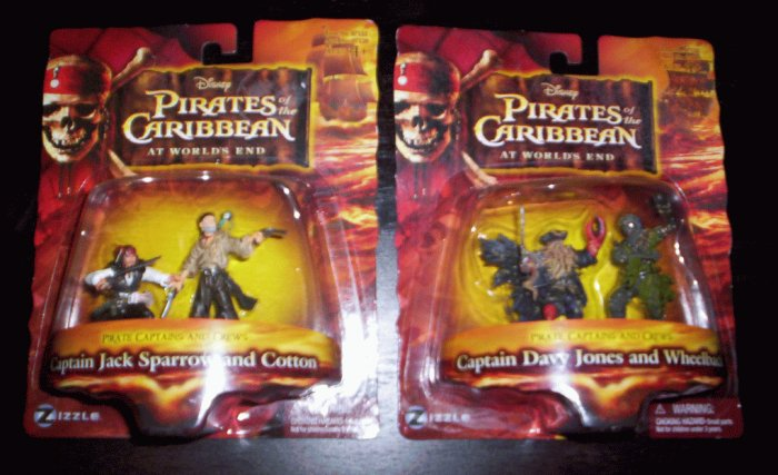 Pirates of the Caribbean at World's End action figures!