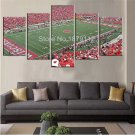 Large Framed Wisconsin Badgers Camp Randall Canvas Print Wall Art Home Decor