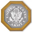 "13"" United States Army Emblem Etched Mirror"