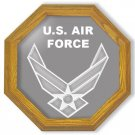 "20"" United States Air Force Emblem (contemporary) Etched Wall Mirror"