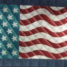 "18""x29"" American Flag Cotton Rug"