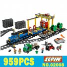 Lepin 02008 City Series Cargo Train Set Compatible Lego 60052 New 959pcs