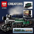 Lepin 21005 Creator Emerald Night Train Compatible Lego 10194