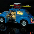 Best Seller LED Light Kit For LEGO Creator BEETLE Blue Vintage Car 10252 (Lego Set not Included)