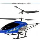 Blue Fall-resistant 3.5-pass wireless remote control helicopter model toys