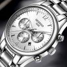 GESSIDO Men's Watch, Automatic Mechanical Watch, Men's Fashion Steel Watch