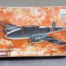 Aircraft Fighter Military Model Assemble Kit 1/144 GER ME-110G ZERSTORER 80402