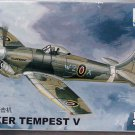 Aircraft Fighter Military Model Assemble Kit 1/144 UK HAWKER TEMPEST V 80405