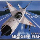 Aircraft Fighter Military Model Assemble Kit 1/144 MiG-21PF FISHBED 80410