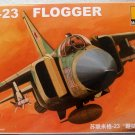 """Aircraft Fighter Military Model Assemble Kit 1/144 MiG-23 """"FLOGGER"""" 80411"""