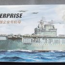 Ship assembled electric warship model 1:700 US CV- 6 USS ENTERPRISE XC80902