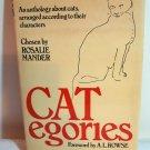 CATegories chosen by Rosalie Mander HB DJ 1st ed. cm1048