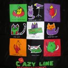 Crazy Line by Gianantonio tote bag fun waterproof nylon unused cm1105