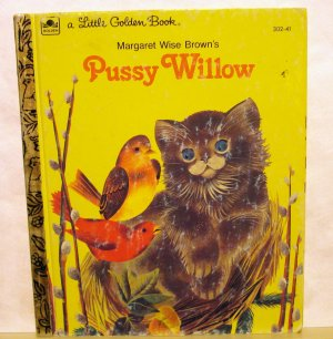 Pussy Willow Margaret Wise Brown A Little Golden Book vintage edition cm1308
