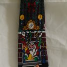 Addiction silk Christmas necktie Cat greets Santa perfect vintage cm1318