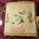 Burlap Fabric Journal