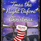 PERSONALISED Twas The Night Before Christmas Children's Book