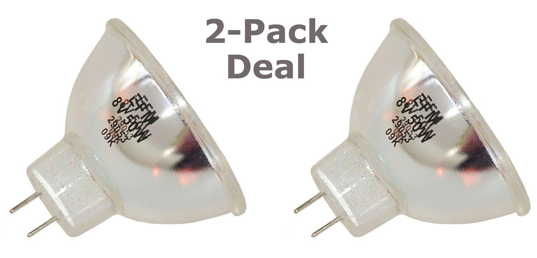 2pc Bulb for Osram Sylvania 54123 64606 64607 Halogen Medical DJ Projection Lamp