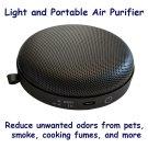 254nm Light UV-C Air Purifier For Home & Car Smoke Remover Mold Odor Portable