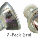 2pcs Replacement Bulb 12V 75W For Caulk QHL Spectrum 800 Degussa Degulux Lasac