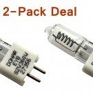 2pcs Bulb For Dukane SUNSPLASH SP 2225 2226 2227 2233 Microfilm 611 622 632
