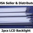 "2pc LCD BACKLIGHT LAMP DELL LATITUDE CPIA CPT D400 D410 L400 X200 X300 12.1"" XGA"