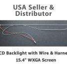 """CCFL LCD BACKLIGHT LAMP WIRE HARNESS Dell Precision M4300 M60 M70 15.4"""" WXGA"""