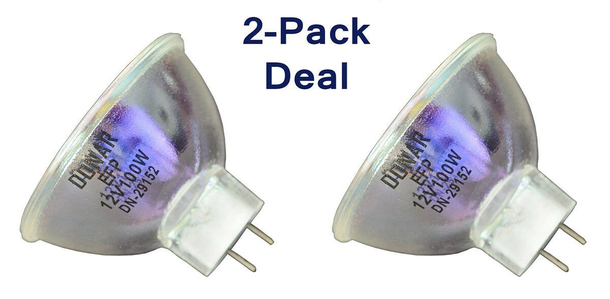 2pcs Bulb for EUMIG R2000 R3000 S804D Mark 802 Sound Super 8 Projector S907GL