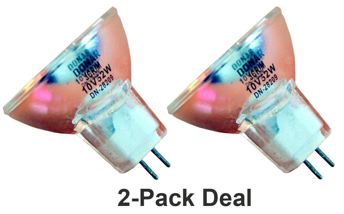 2pcs 10V 52W Bulb For Orbitec 131467 H61052 Osram 13298 Philips 14553 13298