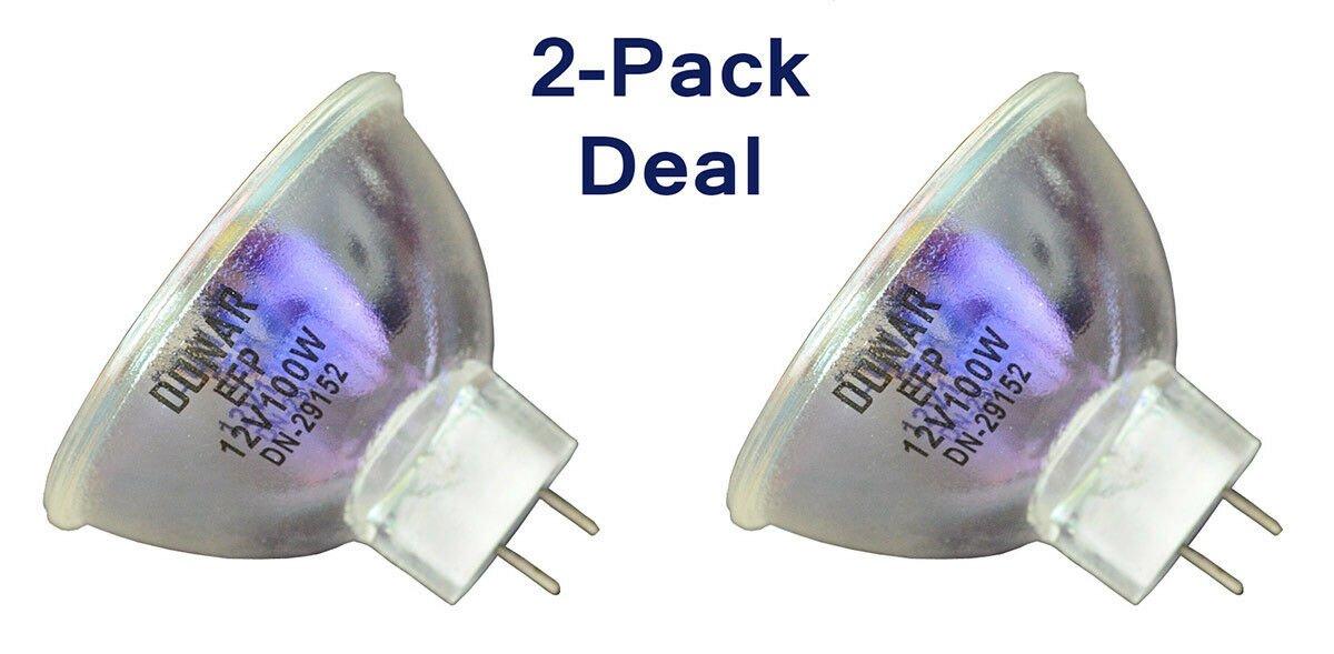 2pcs 12V 100W EFP bulb for ELMO 8mm Projector K110 SM Chevron Instamatic M105-P