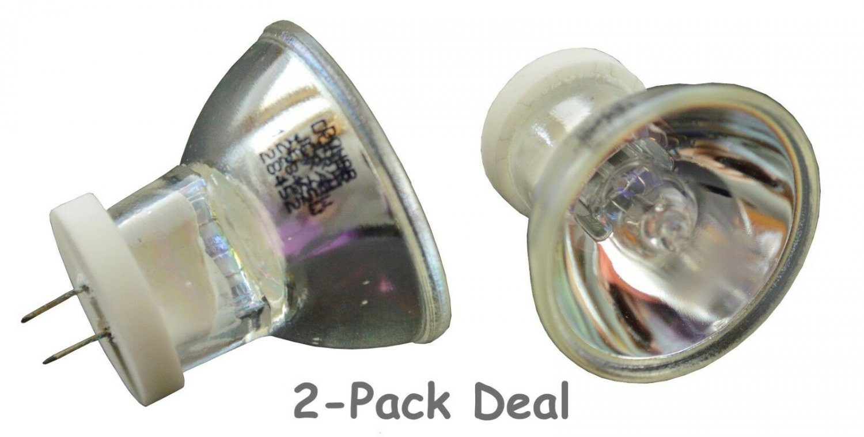 2pcs Curing Dental Bulb 12V 75W 13645 64617 for 3M Acubite Darby Demetron Osram