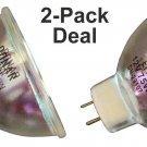 2pcs Bulb for Bell Howell 489Z Chinon 8000 Cygnus Imaging Stylus 240 2000 lamp