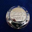 MB Wheels Custom Wheel Center Cap Chrome Part 763-CAP, LG0608-38 hubcap