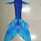Kids Fairy Mermaid Tail for Swimming, Blue Mermaid Costumes, Birthday Gift Idea, Gift for Her