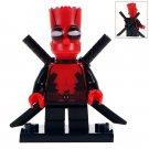 Simpson in Deadpool Minifigure Compatible Lego DC Marcel  Super Hero