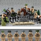 WW2 Sodiers Russian Army Soldiers Minifigures Compatible Lego Military Sets