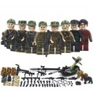 Combodian Mekong Camouflage Military Special Troopers Weapon Compatible with Lego Military Sets