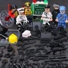 SWAT NAVY Soliders Attacking Soomaaliya Pirates  Minifigures Compatible Lego Militay Sets