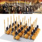 Lego Compatible Ares Saint Warrior Troopers Medieval Knights Minifigures