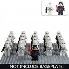 Star Wars Snowtrooper Kylo Ren Commander Minifigure Bricks Toy Compatible Lego Snowtrooper Battle