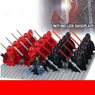 Emperor Palpatine arrival diorama and Red Army Toy Compatible Lego Star Wars Minifigure