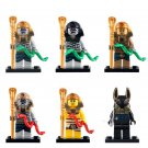 Pharaoh's Quest Mummy Warrior Imperial knight minifigures Compatible Lego