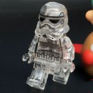 Star Wars Stormtrooper Limited Minifigure Crystal Bricks Toy Compatible Lego Minifigures