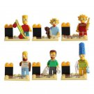 Simpsons Family Characters Minifigures Lego Simpsons series 2